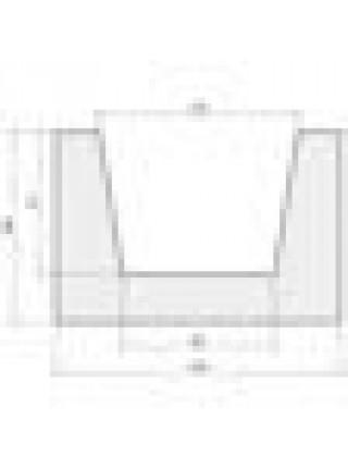 Балка 100*150 рубленая черная