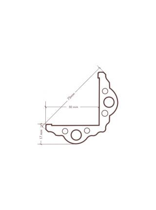 FocusFloor Дуб Lodos трехполосная (браш)