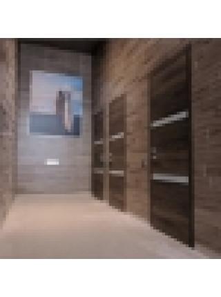 Ламинированные 3D МДФ панели Сонома Труфель